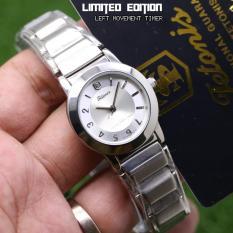 Tetonis Original TS3323 - Jam Tangan Fashion Murah Wanita - Analog Mesin Putar Terbalik
