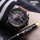 Jual Tetonis Original Ts3373 Jam Tangan Casual Murah Pria Chrono Aktif Leather Strap Tetonis Di Indonesia