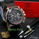 Spesifikasi Tetonis Original Ts6012 Jam Tangan Pria Tali Kulit Yang Bagus
