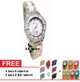 Toko Tetonis T959M Sp Jam Tangan Fashion Wanita Ceramik Stainlesstell Silver Pink Tetonis