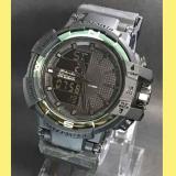 Harga Tetonis Tns7728 Dual Time Jam Tangan Pria Rubber Strap Hitam Tetonis Terbaik