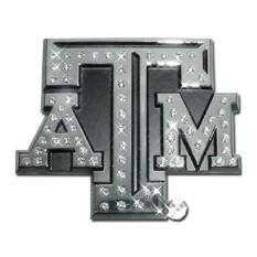 Texas Sebuah & M Universitas Aggies Kristal Austria & Krom NCAA College Olahraga Premium Logam Mobil Truk Sepeda Motor Emblem- internasional