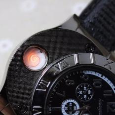 TGB Jam Tangan Pria Dengan Kriket / Korek USB Elektrik