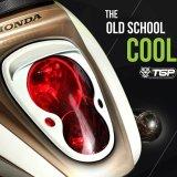 Jual Tgp Ring Lampu Depan Dan Belakang Honda Scoopy Chrome Original