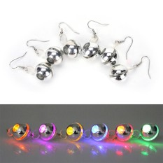 Pesona LED Light Up To Crown A Glowing Crystal Stainless Anting-Intl