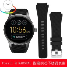 The fossil Q MARSHAL series sport intelligence hand watch band fossil men and women Men's Fashion Watch - intl