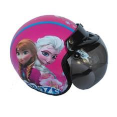 Jual The Musketeer Helm Anak Bogo Usia 4 7 Tahun Frozen Pink Import