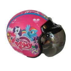 The Musketeer - Helm Anak Bogo Usia 4-7 Tahun Little Pony Pink