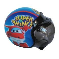 Harga The Musketeer Helm Anak Bogo Usia 4 7 Tahun Super Wings Biru Terbaik