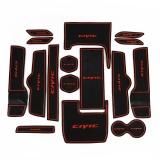Beli Ten Generasi Honda Civic Gate Slot Pad Kotak Penyimpanan Mat Red Pc16 Kredit Tiongkok