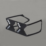 Spek Thug Life Kacamata 8 Bit Pixel Kesepakatan Dengan Ini Sunglasses Unisex Sunglasses Hotsell Intl