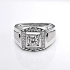 Toko Tiaria Dhtxhjz029 Perhiasan Cincin Emas Putih Dan Berlian White Gold 18K Murah Di Dki Jakarta