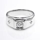 Harga Tiaria Dhtxhjz063 Perhiasan Cincin Emas Putih Dan Berlian White Gold 18K Tiaria Ori