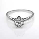 Harga Tiaria Djxjz005 Perhiasan Emas Cincin Emas Putih 18K Dan Berlian