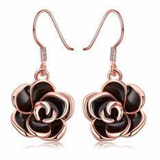 Bella & Co. Earrings AKE008 Aksesoris Perhiasan Anting Lapis Emas Rose
