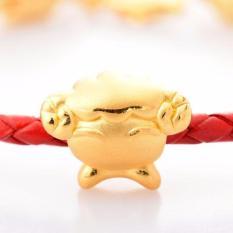 Promo Tiaria Gold Sheep Pendant Bracelet 24K Gold Perhiasan Gelang Emas 24K Di Dki Jakarta