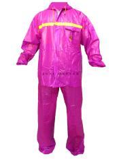 Situs Review Tiger Head Jas Hujan Glossy Merah Muda