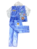 Spesifikasi Tiger Head Jas Hujan Olympic Remaja Biru Lengkap