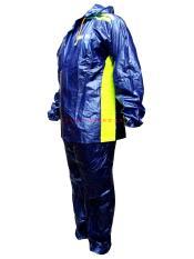 Spesifikasi Tiger Head Jas Hujan Setelan Jazz Biru Tua Paling Bagus