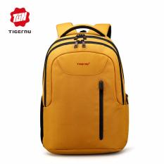 Jual Tigernu 14 Laptop Backpack Casual Perjalanan Bisnis Tahan Air Oxford Backpack T B3204 Kuning Antik