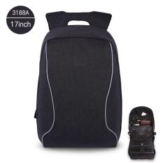 Jual Tigernu 17 Inches Anti Theif Bisnis Casual Laptop Backpack For12 15 6Inches Laptopt B3188A Black Gray Intl Tigernu Branded