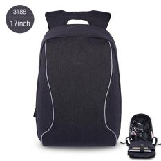 Jual Beli Tigernu 17 Inches Fashion Business Casual Laptop Backpack For12 15 6Inches Laptop3188 Black Grey Intl Tiongkok