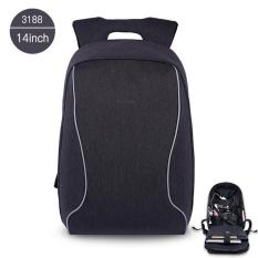 Dimana Beli Tigernu Anti Theft Casual 14 Inches Laptop Ransel Untuk 10 14 Inches Laptop Hitam Abu Abu Tigernu