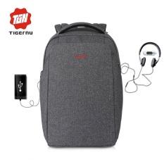 Tigernu Eksternal Pengisian Usb Anti Theft Laptop Backpack 15 6 Inch Wanita Pria Splashproof Tas Tiongkok Diskon