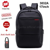 Harga Tigernu Ukuran L 17 Inci Travel Business Daily Waterproof Backpack Untuk 12 1 17 1 Inch Laptop T B3032A17 Hitam Lengkap