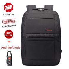 Beli Tigernu Tahan Air Anti Pencurian Empat Gigi Ritsleting Shcool College Kausal 43 18 Cm Ransel Untuk Laptop 12 1 17 Inci Laptop T B3152 Hitam