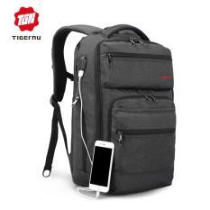 Tigernu Usb Pengisian Fabric Laptop Ransel Cocok Untuk 12 15 6 Laptop Model3242 Intl Diskon Tiongkok