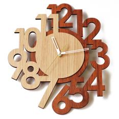Spesifikasi Tiktokbox Jam Dinding Mwc Layer Wood Lengkap Dengan Harga