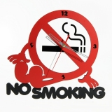 Model Tiktokbox Jam Dinding Mwcd No Smoking Terbaru