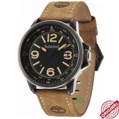 Timberland Men's Caswell D46H1155TBL14247JS-02MHCKT Date Jam Tangan Pria Leather Strap