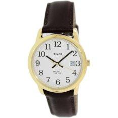 Review Timex Classics Men S T2N369 Easy Reader Cokelat Kulit Timex