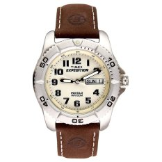 Jual Timex Expedition Men S T46681 Expedition Cokelat Kulit Baru