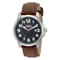 Toko Timex Men S Expedition T44921 Leather Strap Cokelat Timex Di Indonesia