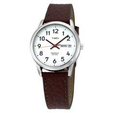 Timex Originals Men S T20041 Jam Tangan Pria Cokelat Kulit Indonesia Diskon 50