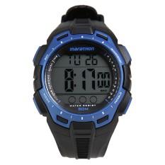 Katalog Timex Tw5K94700 Original Marathon Alarm Chronograph Jam Tangan Pria Black Terbaru