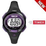 Beli Timex Women S T5K523 Ironman Essential 10 Mid Size Hitam Ungu Resin Strap Watch Intl Di Korea Selatan
