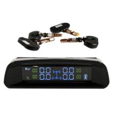 Spesifikasi Sistem Pemantauan Tekanan Ban Cerdas Bertenaga Surya Tpms With 4 Sensor Internal Diagnostik Fungsi Alarm Pengukur Suhu Bar Psi Tampilan Lcd Warna Warna Warni Internasional Oem Terbaru