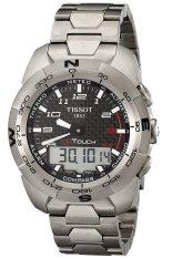 Harga Tissot Pria Grey Stainless Steel Strap Watch T0134204420200 Tissot