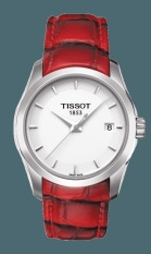 Tissot T-Classic Couturier Quartz Lady T035.210.16.011.01 - Jam Tangan Wanita - Merah