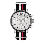 Beli Tissot T Sport Quickster Nato Chronograph T095 417 17 037 01 Jam Tangan Pria Silver Cicil