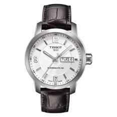 Diskon Tissot T055 430 16 017 00 T0554301601700 Jam Tangan Pria Leather Kulit Branded