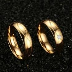 Titanium Cincin Couple - Cincin Tunangan - Cincin Nikah CC084