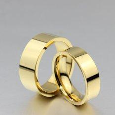 Titanium Cincin Couple - Cincin Tunangan - Cincin Nikah CC087