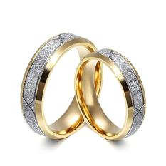 Titanium Cincin Couple - Cincin Tunangan - Cincin Nikah CC091