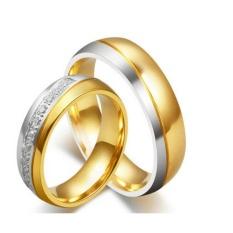 Titanium Cincin Couple - Cincin Tunangan - Cincin Nikah CC102