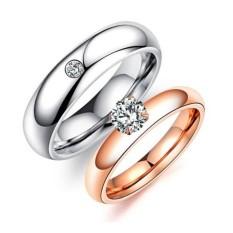 Titanium Cincin Couple - Cincin Tunangan - Cincin Nikah CC109